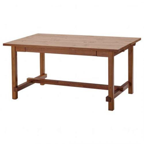 NORDVIKEN НОРДВИКЕН, Раздвижной стол, морилка,антик, 152/223x95 см - 104.885.66