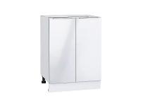 Шкаф нижний с 2-мя дверцами Фьюжн Н600 в цвете Angel