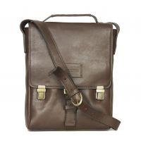 Кожаный вертикальный портфель HIDESIGN ROADSTER-01 Brown