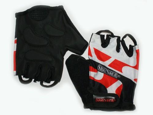 Перчатки велосипедные Материал:трикотаж, искусственная замша. Размер L.. 21232