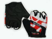 Перчатки велосипедные Материал:трикотаж, искусственная замша. Размер M.. 21231