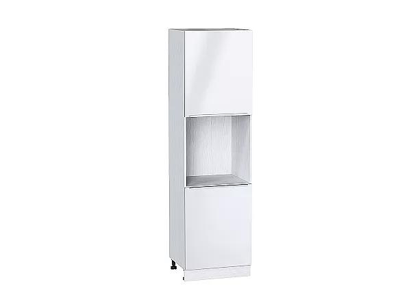 Шкаф пенал под бытовую технику Фьюжн ШП600 (Angel)