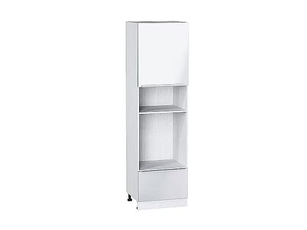 Шкаф пенал под бытовую технику Фьюжн ШП606 (Angel)