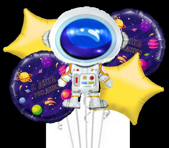 Набор фольгированных шаров Космический