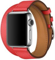 Apple Watch Hermes Series 6 40mm Stainless Steel GPS + Cellular Rose with Double Tour