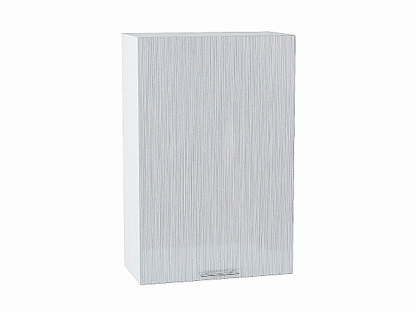 Шкаф верхний Валерия В609-Ф46Н (серый металлик дождь)