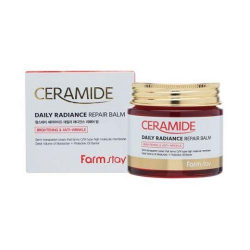 230293 FarmStay Укрепляющий крем-бальзам для лица c керамидами Ceramide Daily Radiance Repair Balm