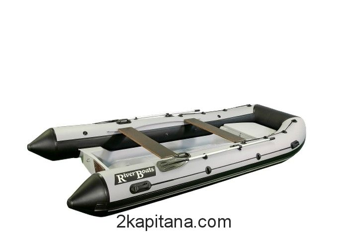 Лодка РИБ RiverBoats RB — 430 (Встроенный рундук) (транец S — 410 мм.)