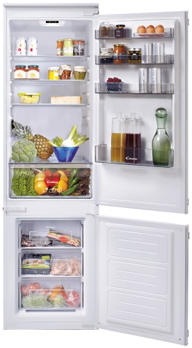 Встраиваемый двухкамерный холодильник Candy CKBBS 182
