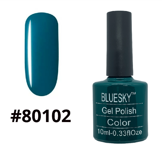 ГЕЛЬ-ЛАК BLUESKY SHELLAC COLOR 10ML №80102
