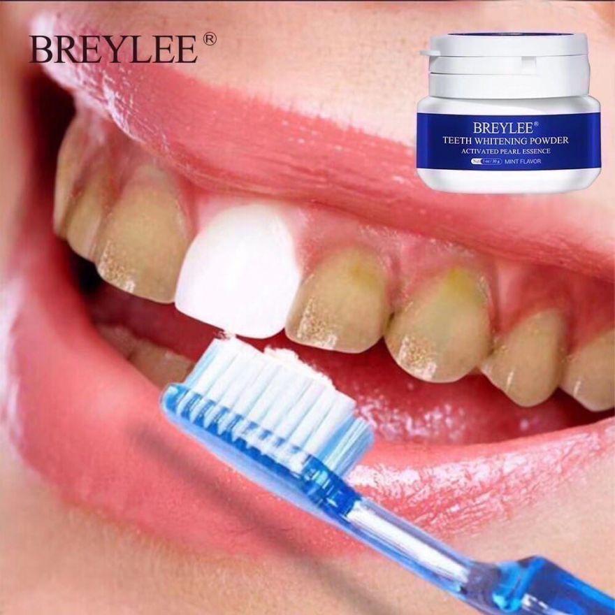 Отбеливающий порошок для зубов BREYLEE 30 гр (1412180)