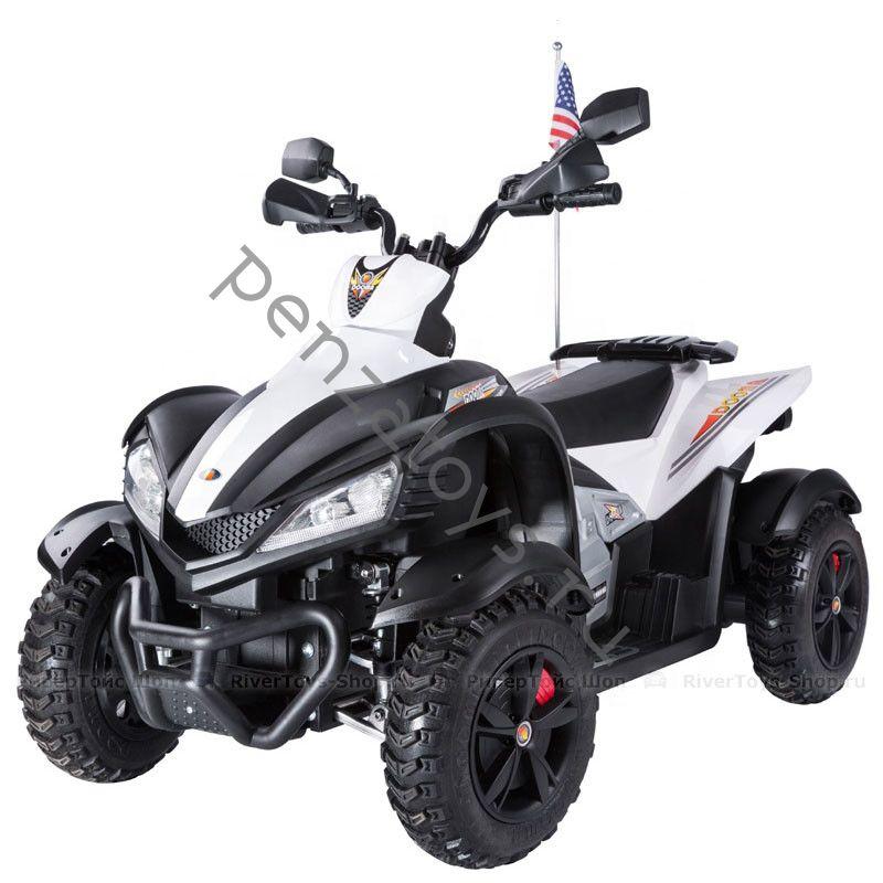 Квадроцикл детский P333PP с кожаным сидением