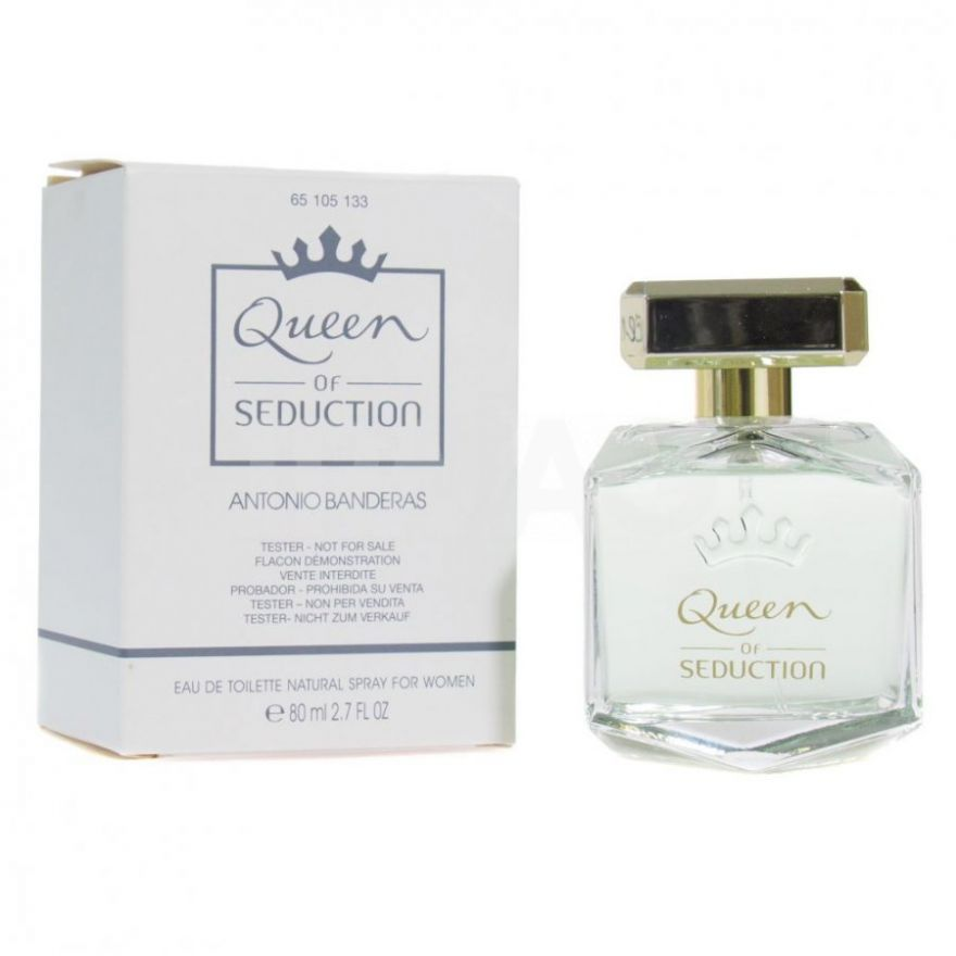 Tester Antonio Banderas Queen of Seduction edt 80ml