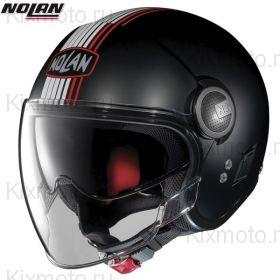 Шлем Nolan N21 Visor Joie De Vivre, Матовый с красным