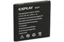 Аккумулятор Explay Golf Original