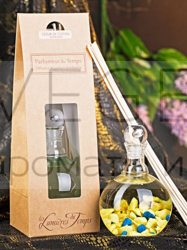 Диффузор lumieres с бамбуковыми палочками ЦВЕТОК ХЛОПКА