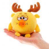 Озвученная мягкая игрушка Лосяш из мультсериала «Смешарики», 10 см