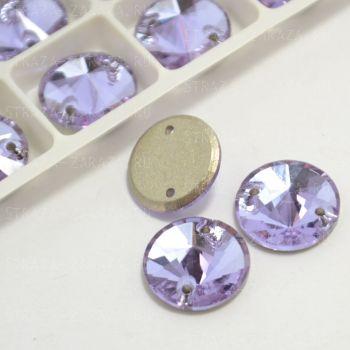 DeLuxe Пришивные Стразы Violet Риволи 10 мм