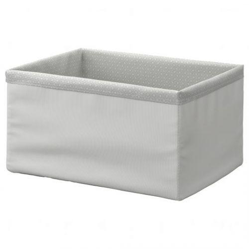 BAXNA БАКСНА, Органайзер, серый/белый, 26x34x18 см - 404.862.93