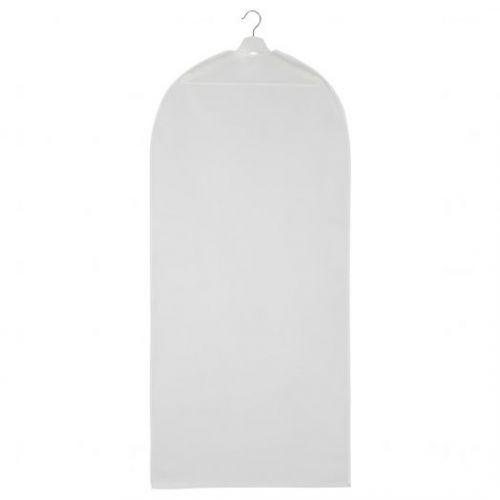 HODDA ХОДДА, Чехол для одежды, прозрачный белый, 60x130 см - 205.031.80