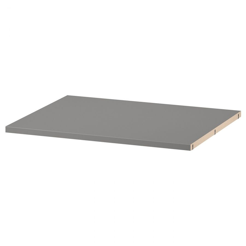 HAUGA ХАУГА, Полка, серый, 56 см - 304.597.80