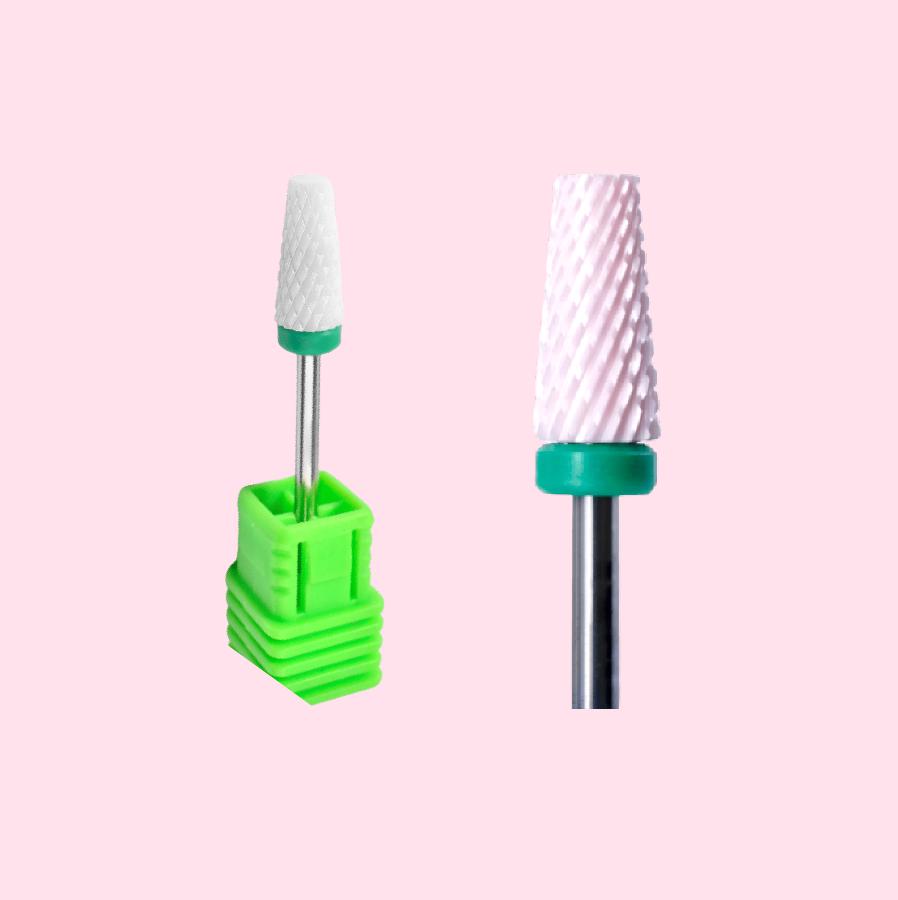 Фреза керамическая «Конус усеченный» зеленая