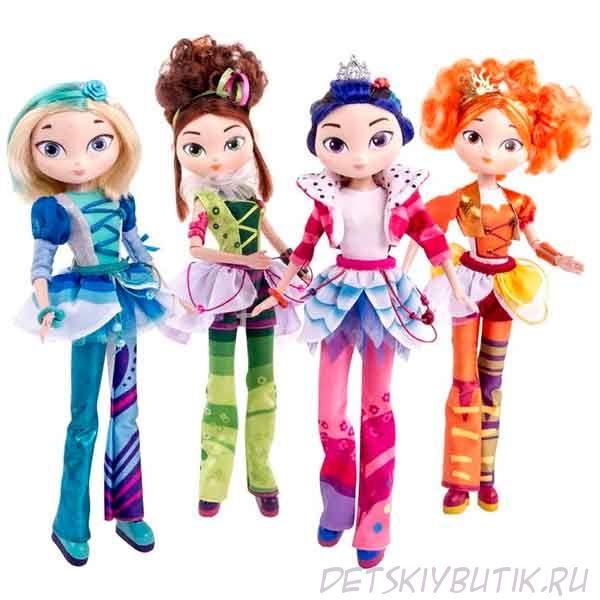 Куклы Сказочный патруль - серия «Casual» - Маша, серия «Music» - Маша, Снежка, Аленка, Варя