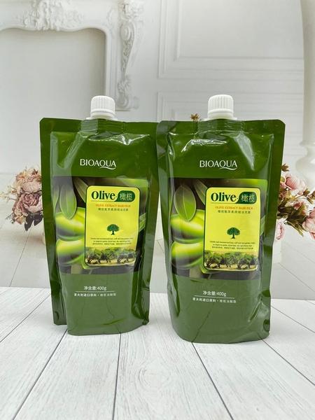Маска для волос BioAqua Olive Hair Mask 400гр (7200)