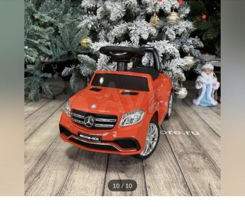 Толокар-электромобиль Mercedes GL63