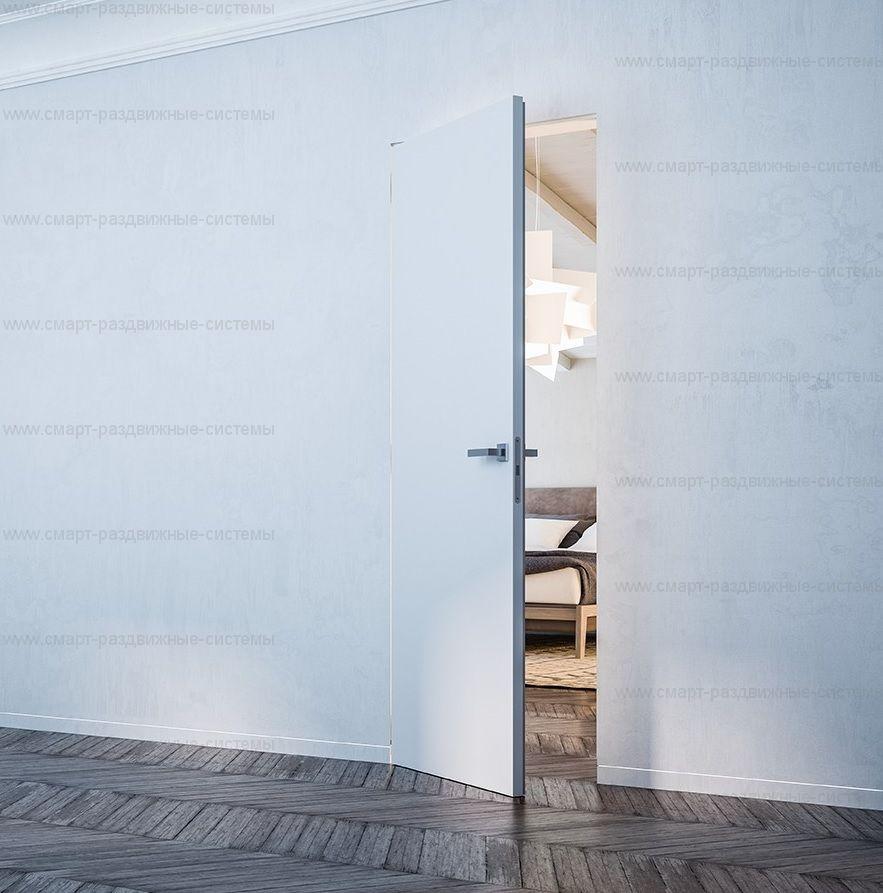 Дверь ПОД ПОКРАСКУ НАРУЖНОГО открывания. Высота от 2400 до 3000