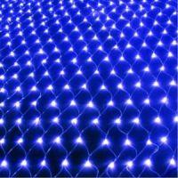 Электрогирлянда Сетка, цвет свечения синий