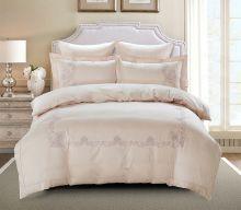 Комплект постельного белья  Сатин вышивка  VALENCIA евро   Арт.5125/3