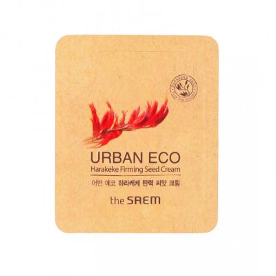 Корейский крем с экстрактом новозеландского льна Urban Eco Harakeke Firming Seed Cream Saem пробник