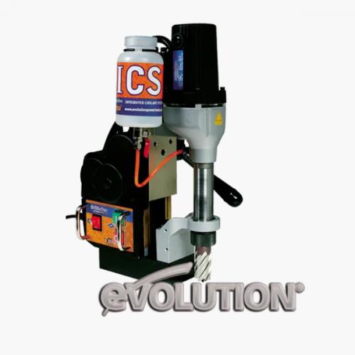 Магнитный сверлильный станок с автоматической подачей Evolution ME3000Auto