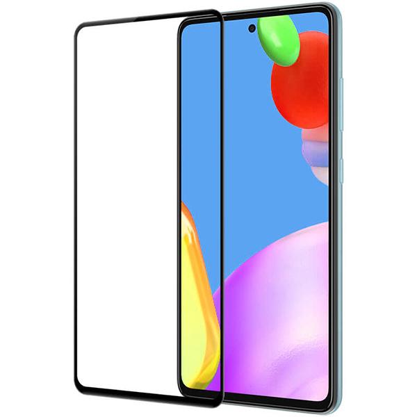 Защитное стекло на Samsung A52 с рамкой