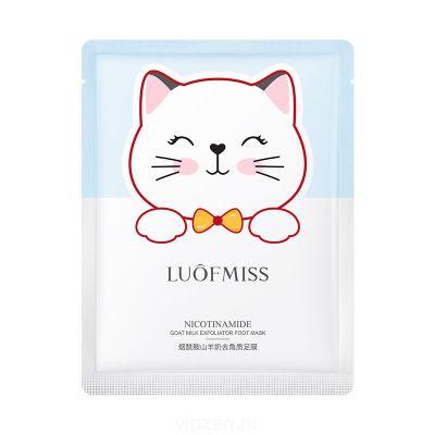 Lofan Mei Material никотинамид козье молоко отшелушивающая маска для ног увлажнение нежная нежная упругость улучшить грубую пасту для ног