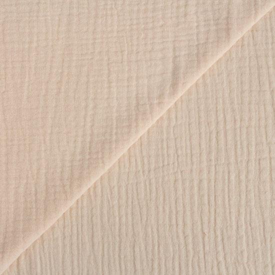 Хлопок - Муслин однотонный персиковый 50x45