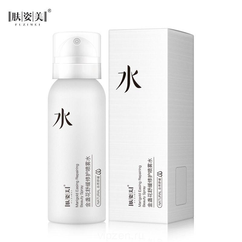 Уход за кожей календула успокаивающий ремонт спрей воды укрепляющий освежающий контроль масла увлажняющий нежные поры производители косметики
