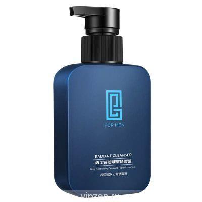 Geberton Men Oil Control Bright Cleanser 168g аминокислоты для удаления угрей акне бледный отпечаток очищает поры очищающее средство для лица