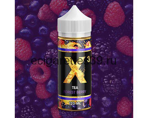 Жидкость X-3 Tea Forest Berry , 120 мл.