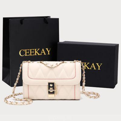 CEEKAY маленькая сумка для женщин 2020 новые тенденции моды дикая мини-цепочка сетка красная сумка осень-зима женская сумка