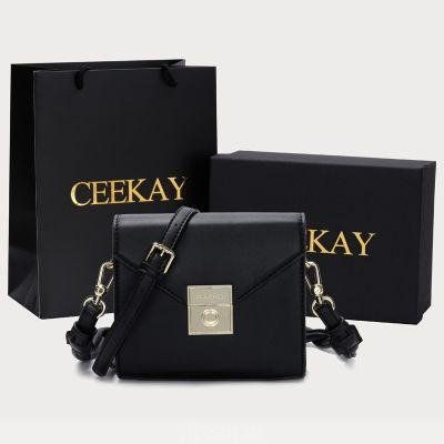 CEEKAY сумка 2020 новый прилив воздуха ниша дизайн черный премиум чувство качества сумка через плечо мода женская сумка
