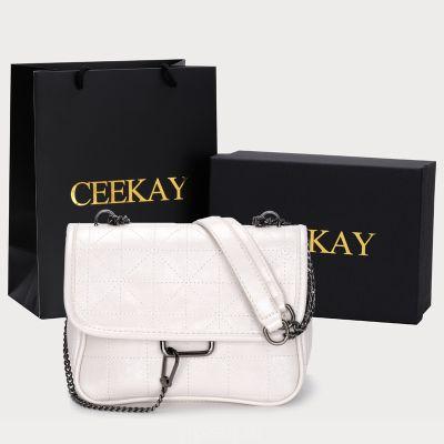 CEEKAY бродячая сумка поп-сумка 2020 новая мода женская сумка чистая красная цепь океан одно плечо сумка через плечо женщины