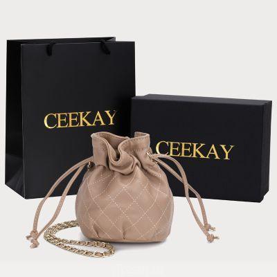 CEEKAY мини-сумка ведро Сумка в этом году популярной сети Красный INS океан кроссбод цепи осень и зима женская сумка