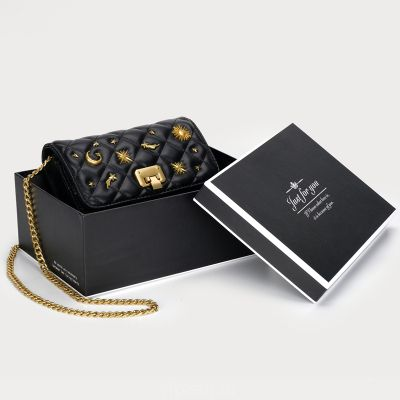 CEEKAY премиум чувство сумка для женщин 2020 новый прилив женская сумка ограничена воздуха мягкая кожа небольшой ароматный ветер черный сумка через плечо