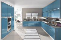 Кухня Kristali NEW (Кристали NEW) голубая