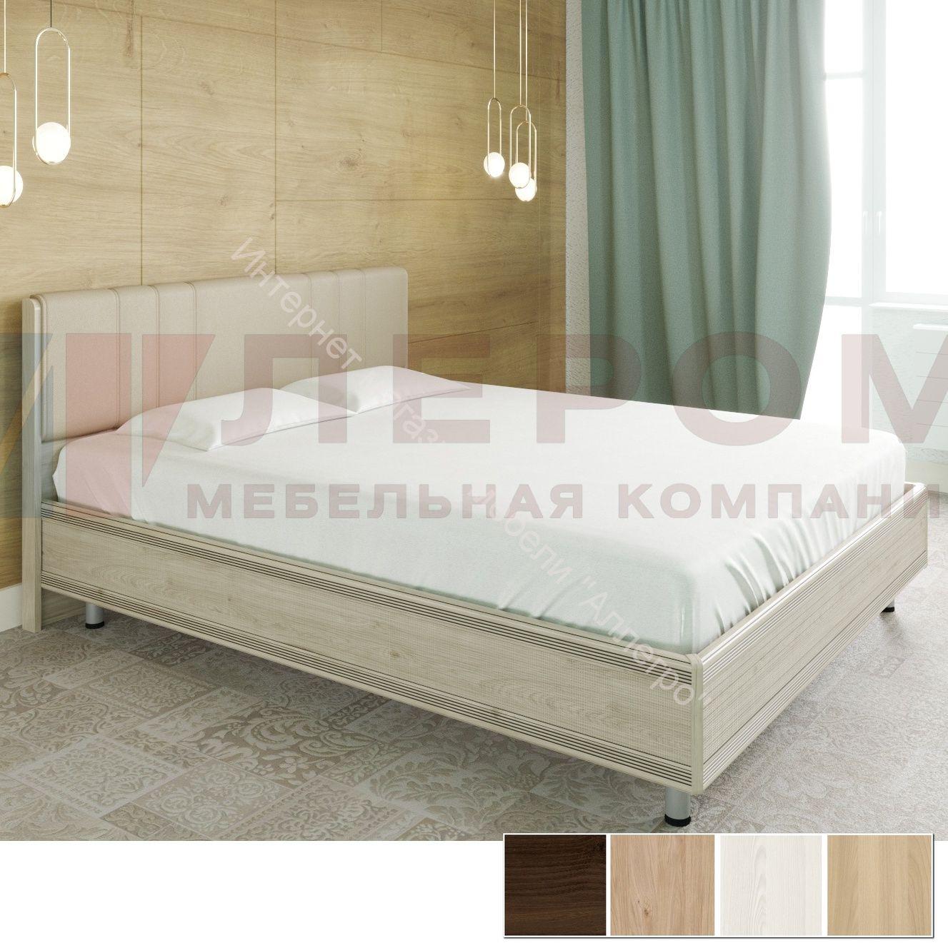 Кровать КР-2013 (1,6*2,0) Карина с  мягким изголовьем