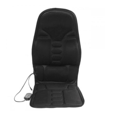 Массажная накидка на кресло с нагревом и вибрацией ROBOTIC CUSHION JB-100B - современное устройство для проведения эффективного массажа спины.