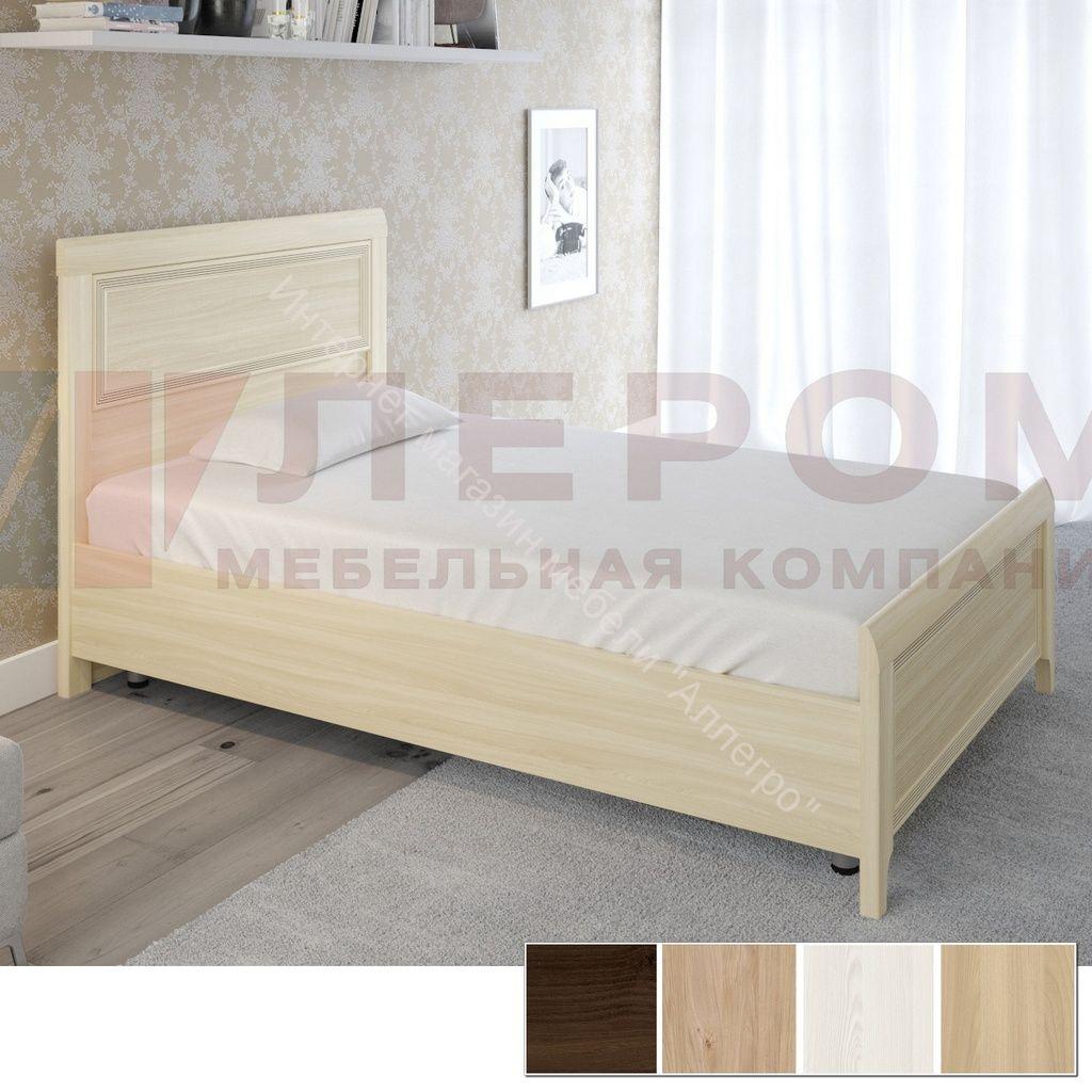 Кровать КР-2021 (1,2*2,0) Карина с жестким изголовьем