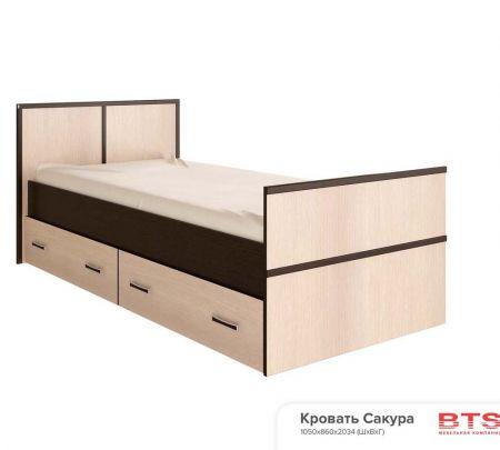 Кровать Сакура (Весна)  на 900/1200